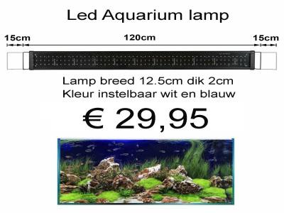 LED Aquarium verlichting voor 150cm tot 180cm bak